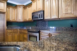Columbus Ohio Dark Granite kitchen - Cincinnati Ohio GS Marble Ohio